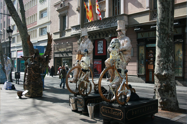 Barcelona-StreetPerformers