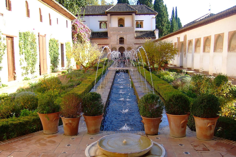 Granada-Generalife-Gardens