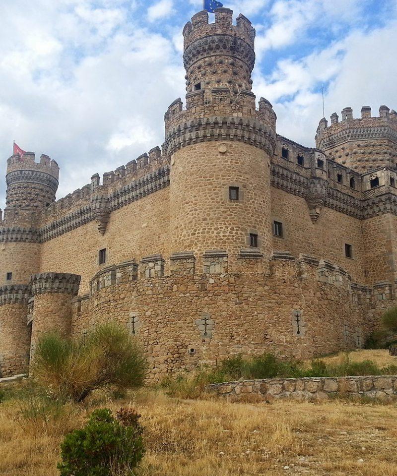 Madrid Castle Manzanares