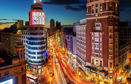 madrid time in spain