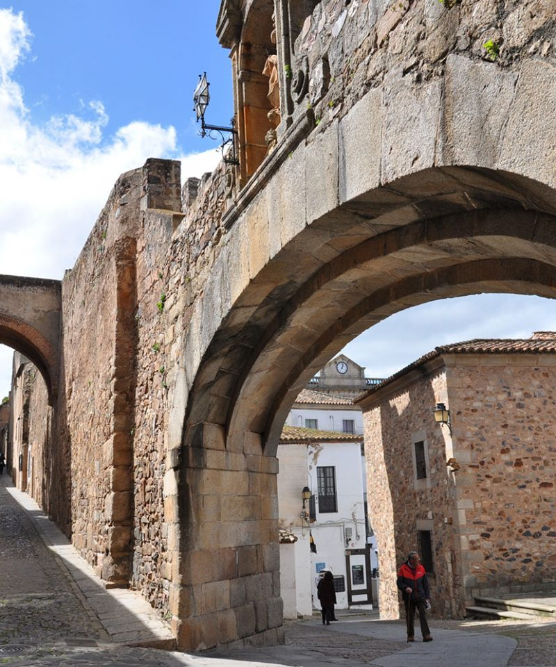 Caceres Streetscape