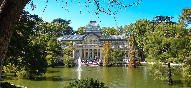 Madrid the cristal palace Amazing trip