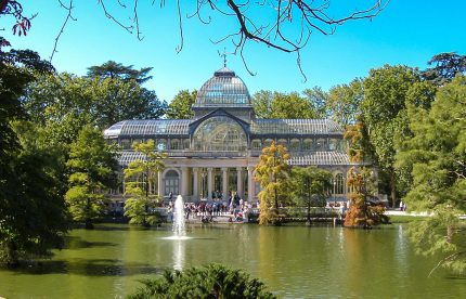 Madrid the cristal palace Amazing trip