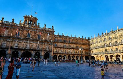 salamanca town square Northern Spain Tours