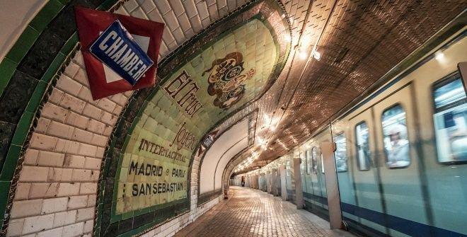 Chamberi Station Madrid
