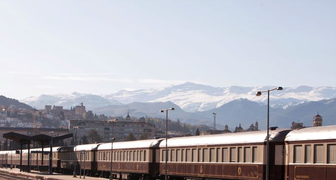 Southern Spain By Train